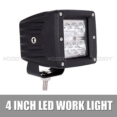 18W Spot LED Light Work Bar Lamp Driving Fog Off-road SUV 4WD ATV Car Boat Truck