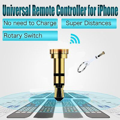 Universal 3.5mm IR Infrared Remote Control TV STB DVD For iPhone Android TR