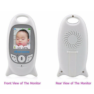 Wireless Digital LCD Color Baby Monitor Security Camera Audio Video Night-Vision