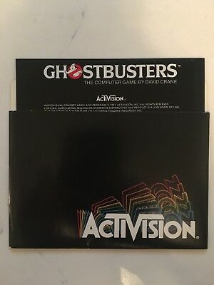 Commodore 64 Ghostbusters Floppy Disk Game MINT