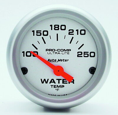 AutoMeter 4337 Ultra-Lite (R) Gauge Water Temperature