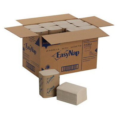 "Georgia-Pacific GPC32015 EasyNap Napkin Brown 2 ply 9.85"" L x 6.5"" W 