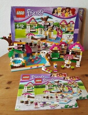 Lego Friends 41008 Heartlake Swimming Pool With Changing Rooms With