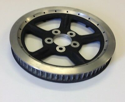 Rear Pulley 68T for Harley Davidson Sportster (Black/Silver) HD# 40354-04