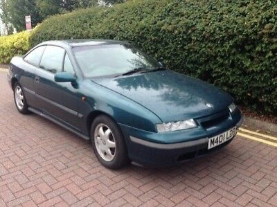 1994 Vauxhall Calibra 2.0L, useable classic, spares or repair simple project