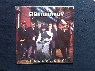 "Madness - Absolutely (12"" LP) OIS"