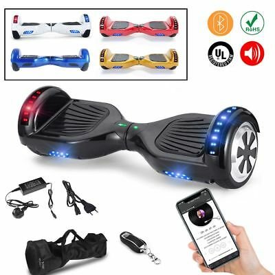 6.5'' Smart Elettrico Pedana Scooter Overboard Bluetooth Led