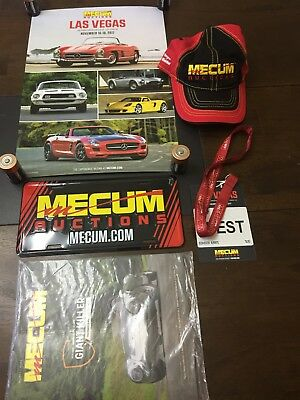 Mecum Auction Collectible Items Package