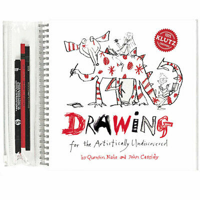 Klutz Drawing Book - Quentin Blake Learn How To Draw Book for Children & Adults