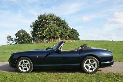 1996 N, TVR Chimaera 400HC in Metallic Starmist Blue. Low owners.