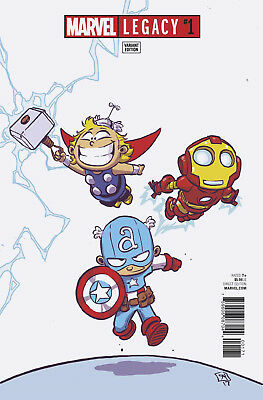 Marvel Legacy #1 - Scottie Young Variant - New/Unread - Bagged & Boarded
