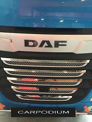 Daf Xf 106  ''new Model''  Chrome Front Grill   '' Stainless Steel''