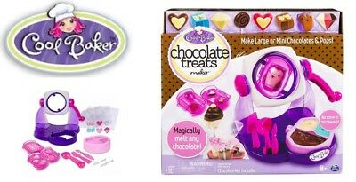 Chocolate Treats Maker Cool Baker Make Chocolate And Pops Brand New