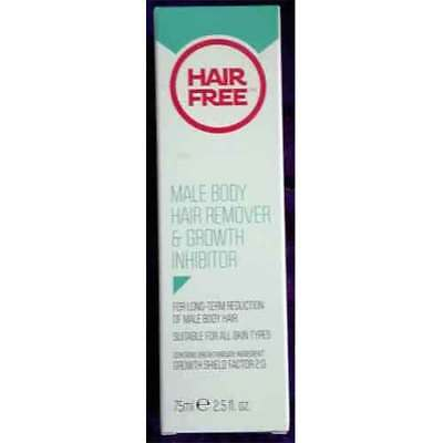 Male Body Hair Remover & Growth Inhibitor