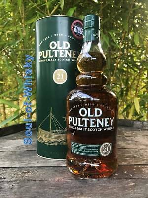 Old Pulteney 21 Jahre mit 0,7l und 46% World Whisky of the Year 2012 Jim Murray