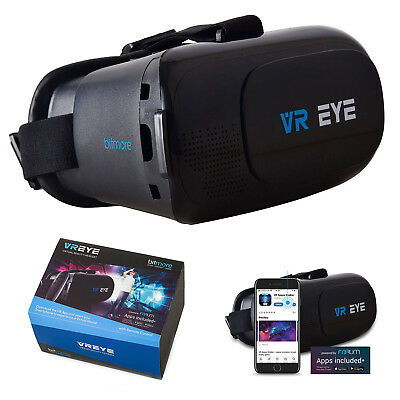3D VR Headset Glasses for iPhone X/8/7+ Samsung Note 8 S9+/S9s Virtual Goggle