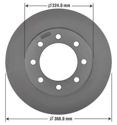 Disc Brake Rotor-Base Front OMNIPARTS AUTOMOTIVE 13060292