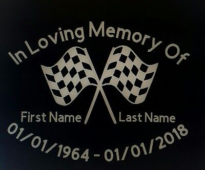 """RACING CHECKERED RIP GRAPHIC  DECALS 24/"""""""