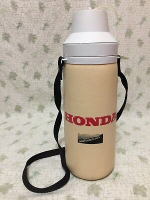 HONDA Motorcycles Thermos Bottle Canteen Vintage 1980's by Harmony Containers