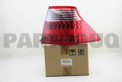 8155130A11 Genuine Toyota LENS & BODY, REAR COMBINATION LAMP, RH 81551-30A11