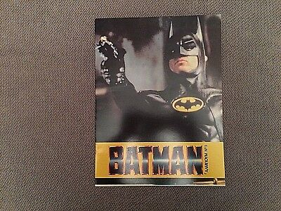 Very rare vintage 1989 Batman empty sticker album  Greece Greek