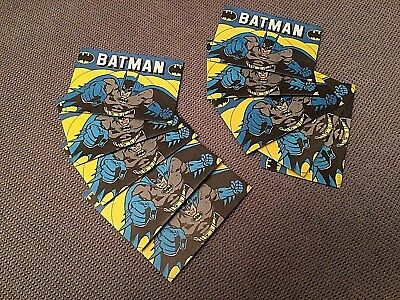 10 Very rare vintage 1989 Batman sealed sticker packs Greece Greek