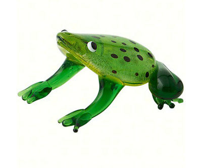 Collectible Blown Glass Creatures And Animals - Frog - Ma -056