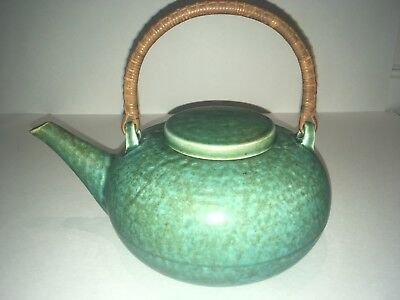 BEAUTIFUL Rare Mid-century Modern Saxbo Teapot By Eva Staehr Nielsen Signed !!!