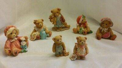 Cherished Teddies (Lot Of 7 Bears) - Pre-Owned - No Boxes