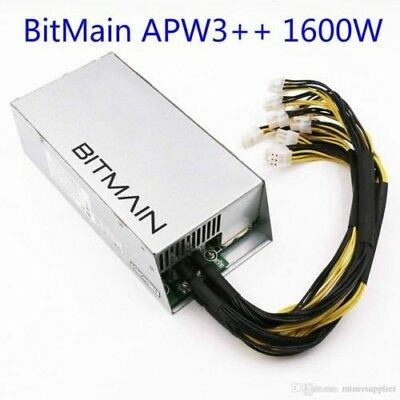 Bitmain APW3++ 1600W Power Supply