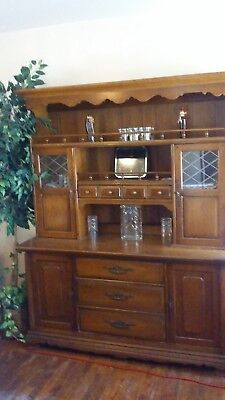 BEAUTIFUL VINTAGE 40 YR. OLD HUTCH / BUFFET (Excellent Condition)