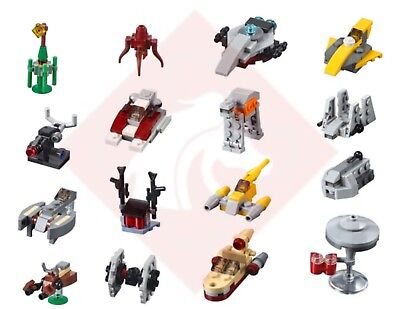 Lego Star Wars 16 X Mini Sets Instructions From 2018 Advent