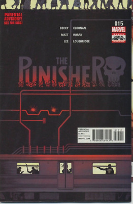THE PUNISHER (2016) #15 MARVEL Declan Shalvey Frank Castle COVER A 1ST PRINT