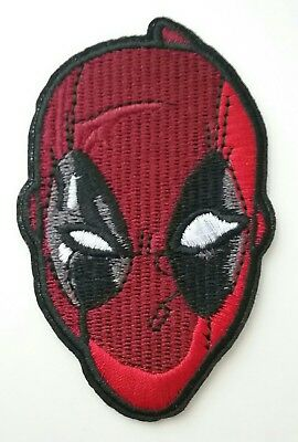 Deadpool Iron-on Patch Embroidered Marvel Comics X-men X-force Wade Wilson