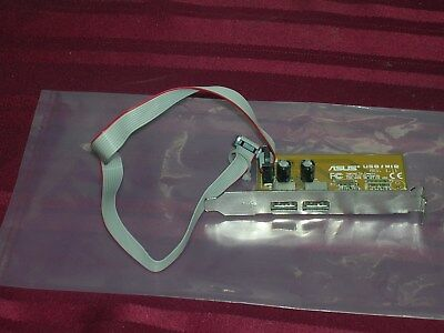 Genuine ASUS USB / MIR 2-Port Add-On Card with Cable for ASUS MB - C100G6-A01