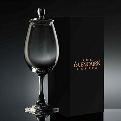 The Glencairn Official Whisky / Sherry Nosing Copita Glass with Tasting Cap
