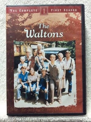 The Waltons - The Complete First Season DVD Richard Thomas Rlaph Waite Will Geer