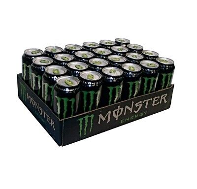 Monster Energy Drink, 16-Ounce Cans 🔥Pack of 24🔥 Free Shipping