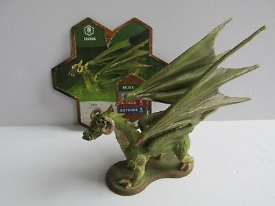 Charos - HEROSCAPE Dragon Figure with Card - Orm's Return