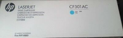 Genuine HP CF301AC Cyan Print Cartridge 827A Brand New In Box