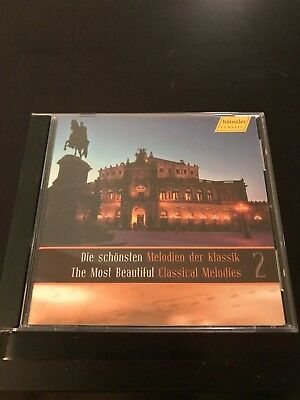The Most Beautiful Classical Melodies 2 - IMPORT - 2008 Rare OOP 1st Pressing CD
