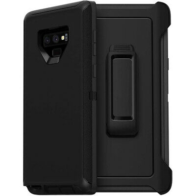For Samsung Galaxy Note 9 Case with Belt Clip Fits Otterbox DEFENDER SERIES PRO