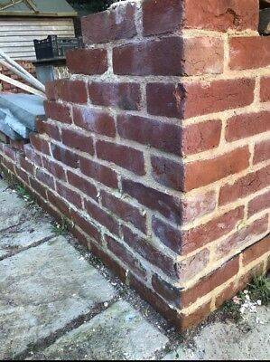RECLAIMED VICTORIAN BULLNOSE bricks - £1 75 | PicClick UK