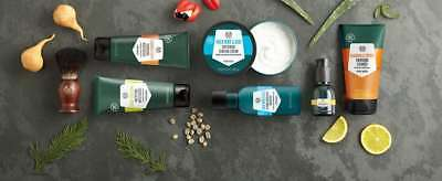 The Body Shop ~ MEN'S GROOMING ~ Skin Care And Shaving & Facial Products For Men