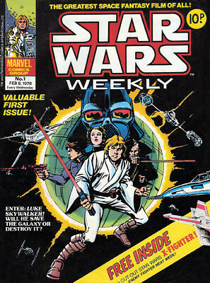 STAR WARS Weekly & EMPIRE STRIKES BACK comic Collection 1978-1982+ Annuals! DVD