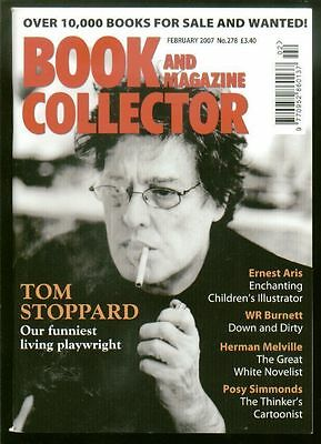 Book and Magazine Collector #278, Feb 2007 - Stoppard, Aris, Burnett, Melville