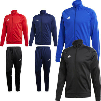 Adidas JUNIOR BOYS CORE 18 Full Zip Tracksuit Football Sports Jacket or Pants