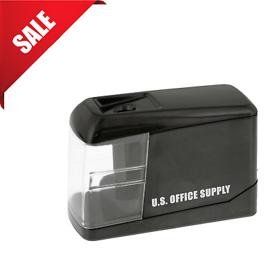 Electric Pencil Sharpener Automatic Touch Pencils Sharpening Battery Operated