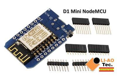 D1 mini - Mini NodeMcu 4M Lua WIFI IoT development board based ESP8266 by WeMos