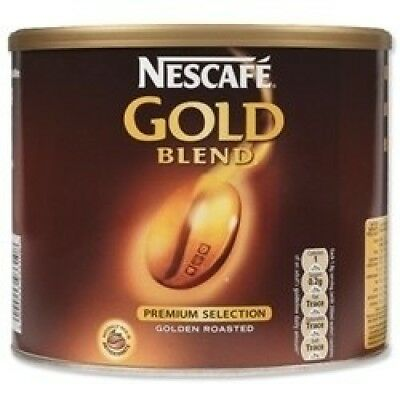 Nescafe Gold Blend Instant Coffee Tin 500g Ref 5200590. Brand New